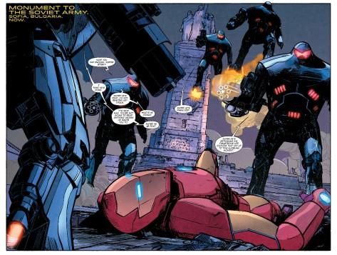 From International Iron Man #1 by Alex Maleev &