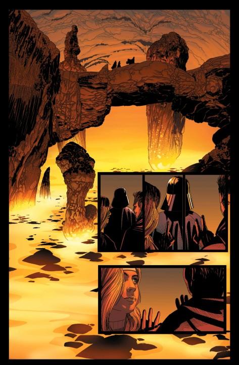 From Darth Vader #18 by Salvador Larroca & Edgar Delgado