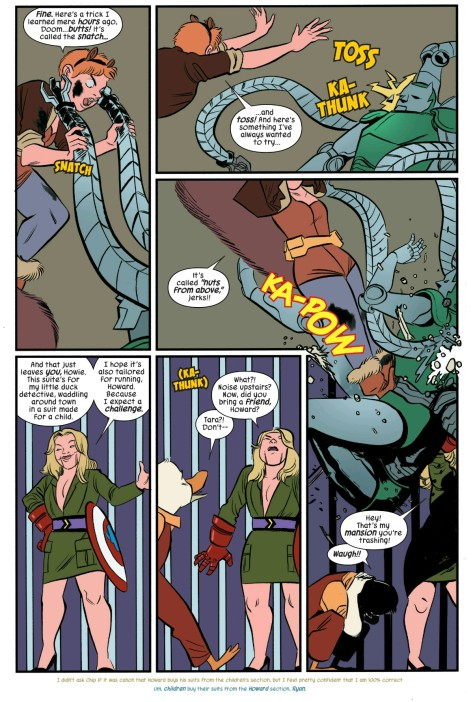 Fro The Unbeatable Squirrel Girl #6 by Erica Henderson & Rico Renzi