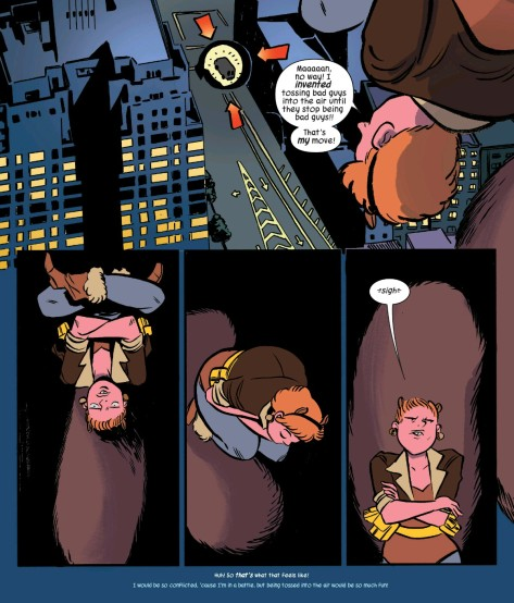 From The Unbeatable Squirrel Girl #6 by Erica Henderson & Rico Renzi