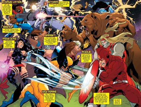 From X-Men 92 #1 by Alti Firmansyah & Matt Milla