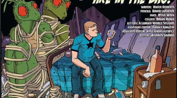 Advance Review of A & A: The Adventures of Archer & Armstrong #1