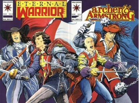 Archer & Armstrong 8 Barry Windsor-Smith