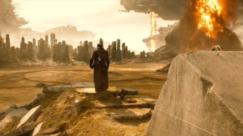 Batman Vs Superman Dawn of Justice dream sequence