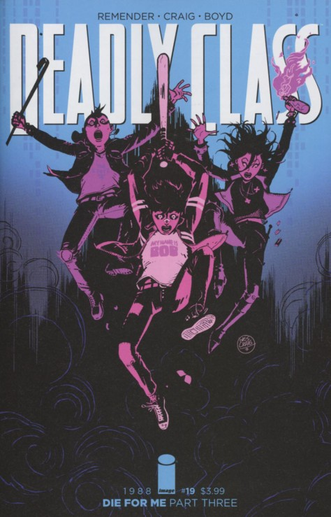 Deadly Class 19 Wesley Craig