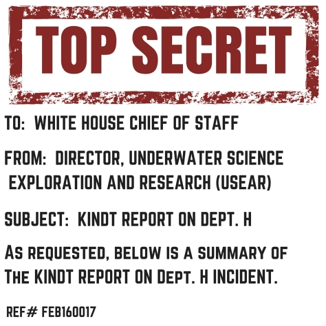 DEPT H Top Secret