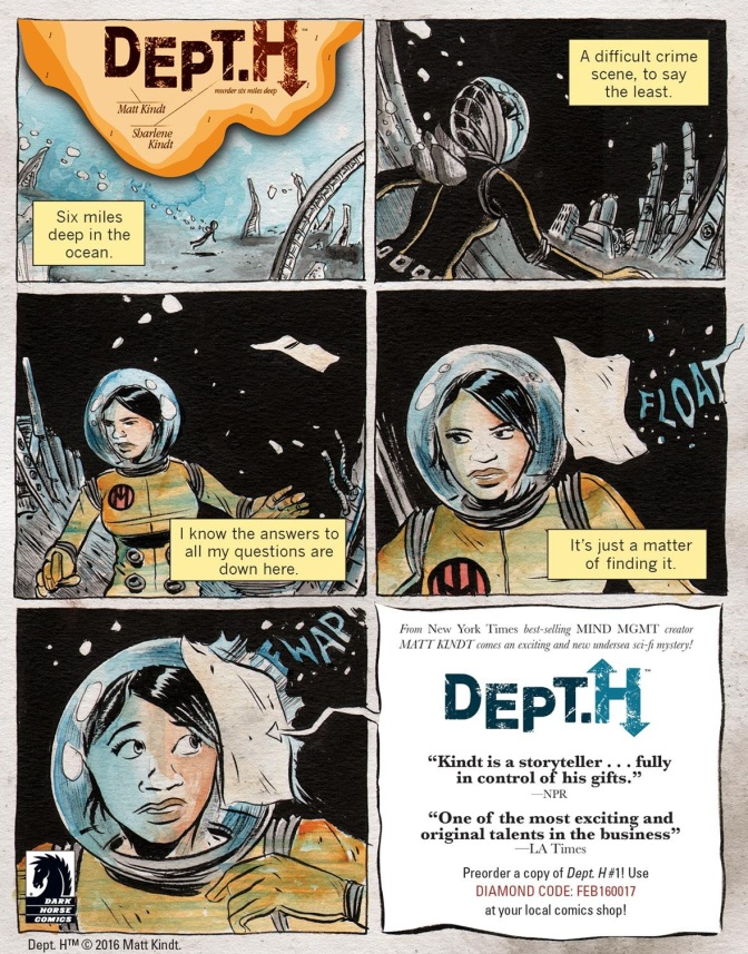 DECLASSIFIED: An Advance Review of DEPT. H #1