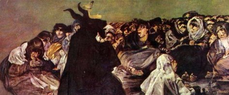 Goya Black Painting Sabbath