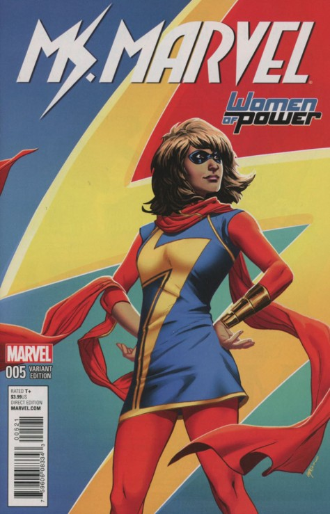 Ms Marvel 5 Emanuela Lupacchino