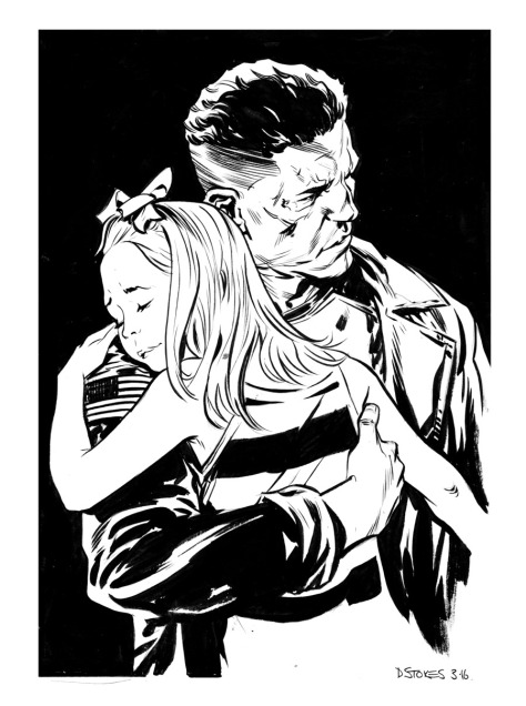 Piunisher Not My Girl David Stokes
