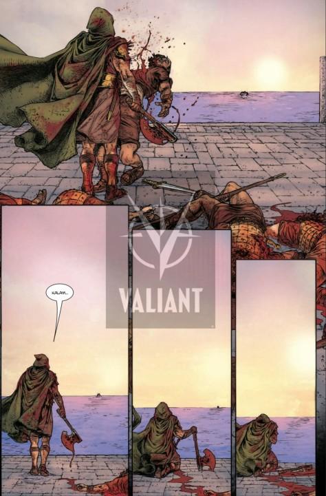 From Wrath Of The Eternal Warrior  #6 by Juan Jose Ryp & Jordie Bellaire