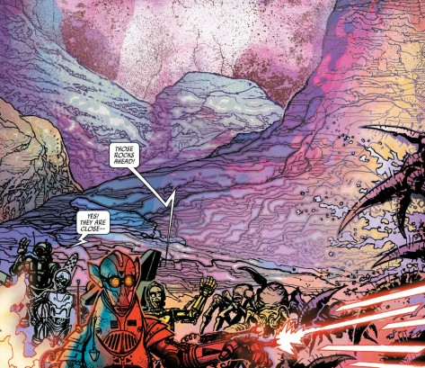 From Star Wars Special: CP3O #1 by Tony Harris