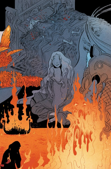 From Pretty Deadly #9 by Emma Rios & Jordie Bellaire