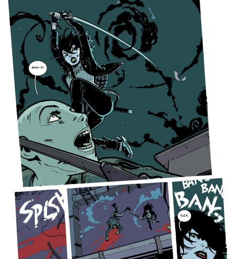 From Deadly Class #20 by Wes Craig & John Boyd