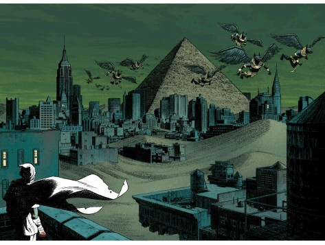 From Moon Knight #5 by Greg Smallwood & Jordie Bellaire