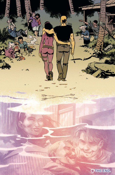 From All New Hawkeye #6 by Ramon Perez & Ian Herring