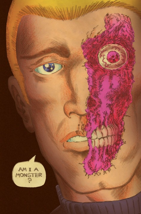 From Transformers vs GI Joe #12 by Tom Scioli