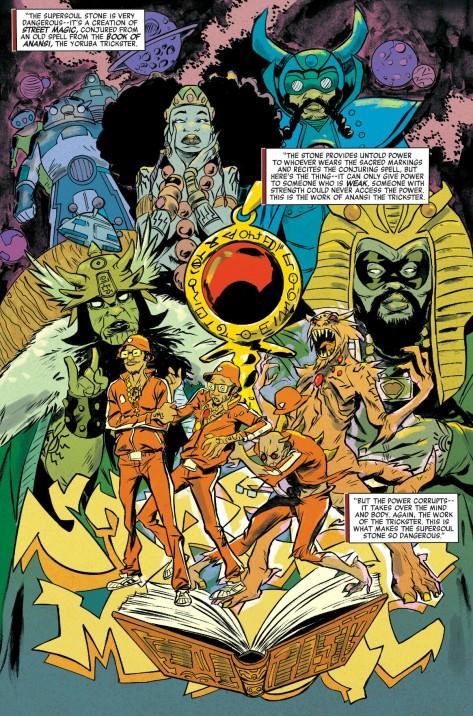 From Powerman & Iron Fist #3 by Sanford Greene & Lee Loughridge