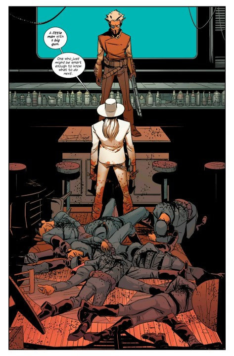 From East of West #25 by Nick Dragotta & Frank Martin