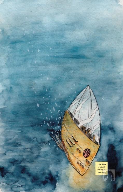 From Dept. H #1 by Matt Kindt & Sharlene Kindt