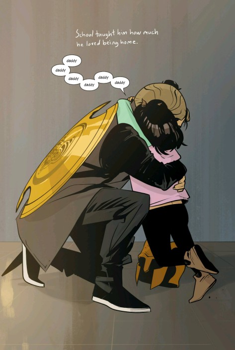 From Saga #36 by Fiona Staples