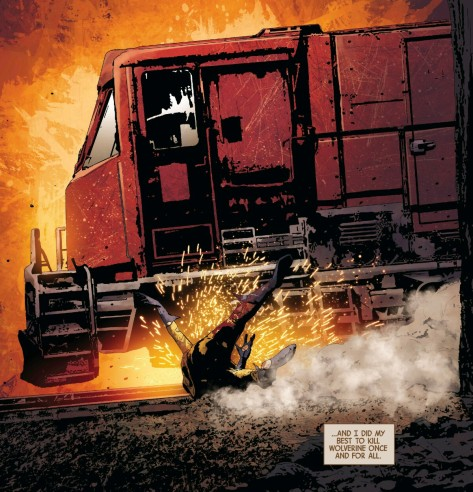 From Old Man Logan #7 by Andrea Sorrentino & Marcelo Mailo