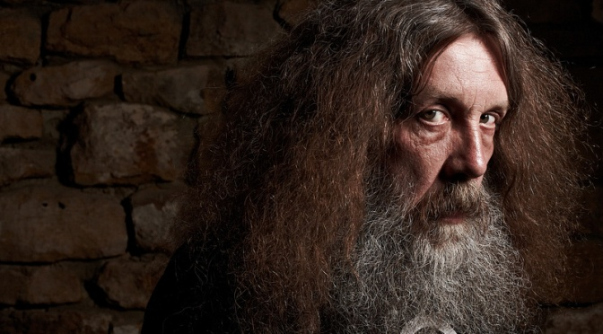 The Secret Origin of Alan Moore's Beard