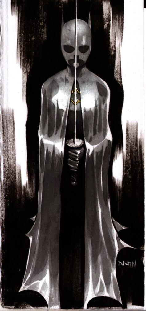 Batgirl Cass Dustin Nguyen