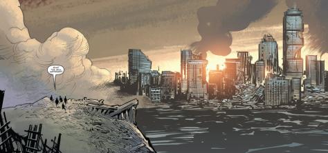 Godzilla Oblivion #1 by Brian Churilla and Jay Fotos