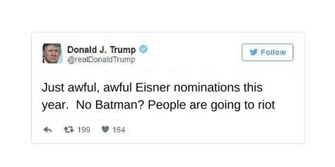Eisner Batman Trump
