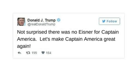 Eisner Captain America Trump