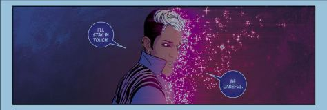 Rest In Power Prince Rogers Nelson From The WIcked + The Divine #6 by Jamie McKelvie & Matt Wilson