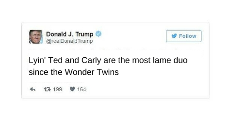 Wonder Twins Trump