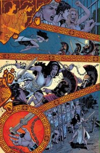 Wonder Woman Earth One Amazons unbound Yanick Paquette