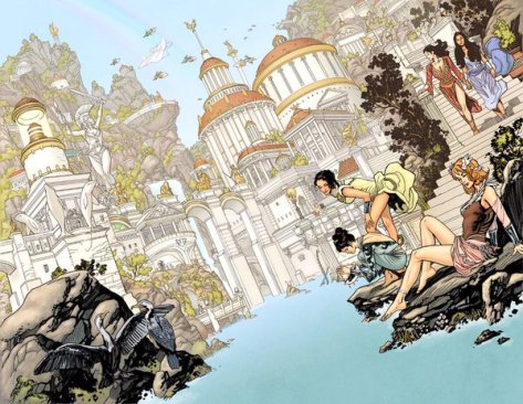 Wonder Woman Earth One Paradise Island Yanick Paquerre
