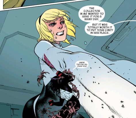 From SPider Gwen #8 by Bengal & Rico Renzi
