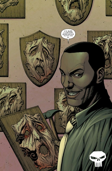 From The Punisher #1 by Steve Dillon & Frank Martin