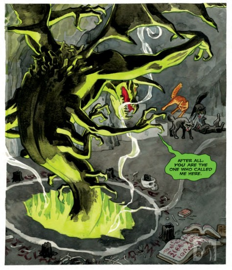 From Beasts of Burden: What The Cat Dragged In by Jill Thompson