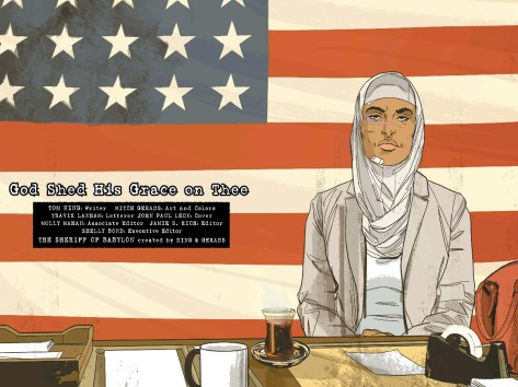 From Sheriff of Babylon #6 by Mitch Gerads
