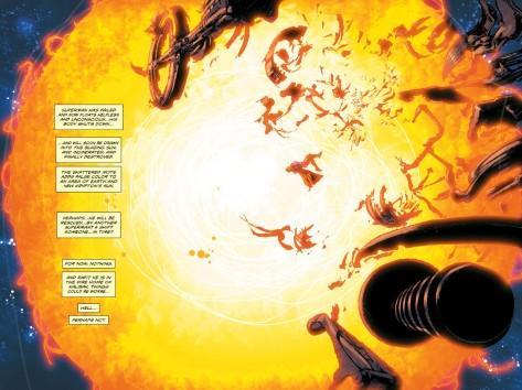 From The Coming Of The Supermen #4 by Neal Adams, Buzz Adams, Josh Adams & Tony Aviva
