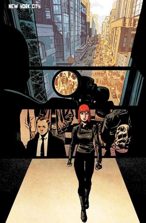 From Black Widow #3 by Chris Samnee & Matt Wilson