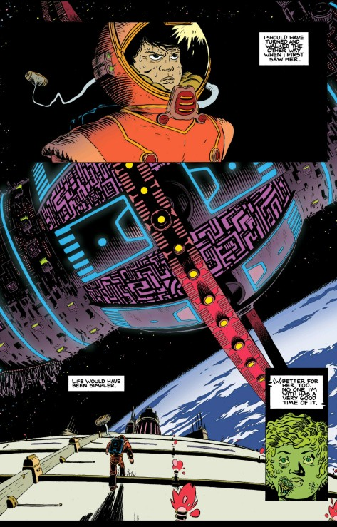 From Prophet Earth War #4 by Ian Macewan & Sloane Leong