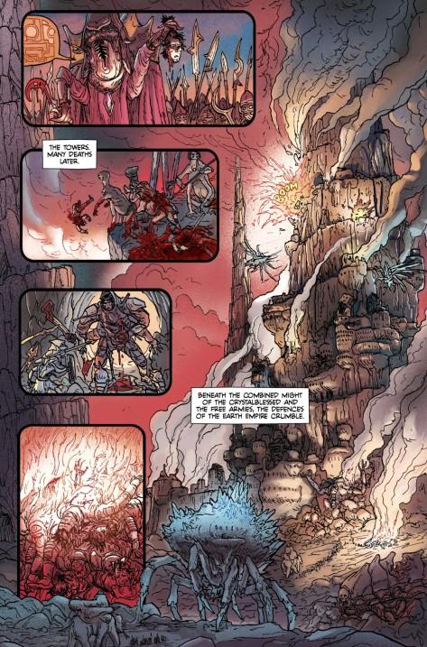 From Prophet Earth War #4 by Giannis Milanogiannis, Simon Roy, Grim Wilkin, Joseph Bergen & Lin Visel
