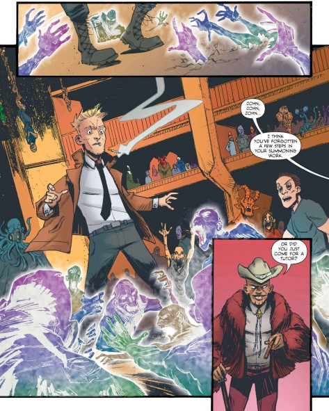From Constantine The Hellblazer #12 by Eric Donovan & Kelly Fitzpatrick