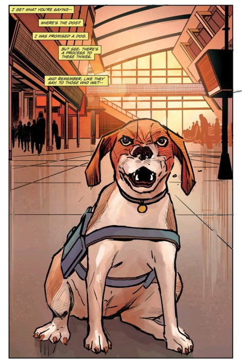 From The Fix #2 by Steve Leiber & Ryan Hill