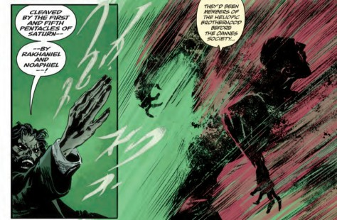 From Abe Sapien #33 by Fiumara & Dave Stewart