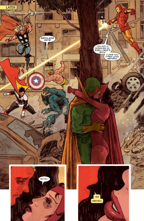 From The VIsion #7 by Michael Walsh & Jordie Bellaire