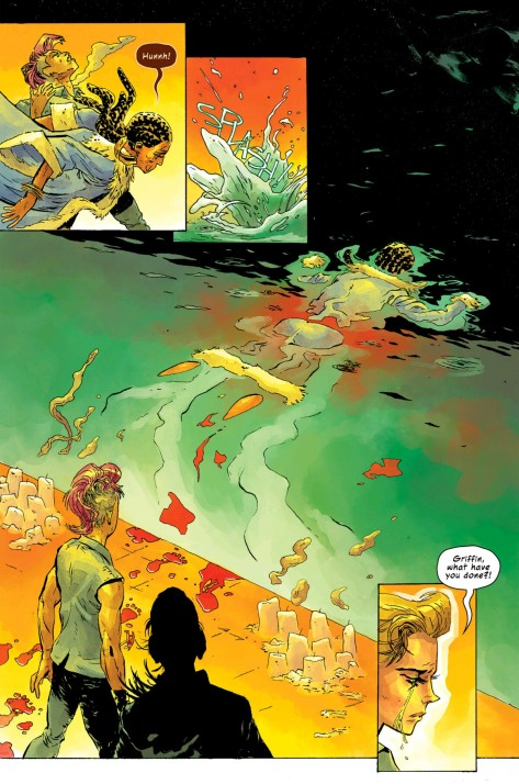 From Island #7 by Johnnie Christmas & Tamra Bonvillain