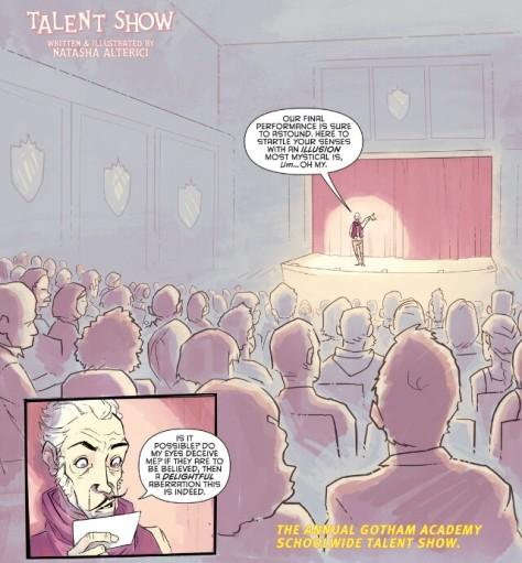 From Gotham Academy #18 by Natasha Alterici