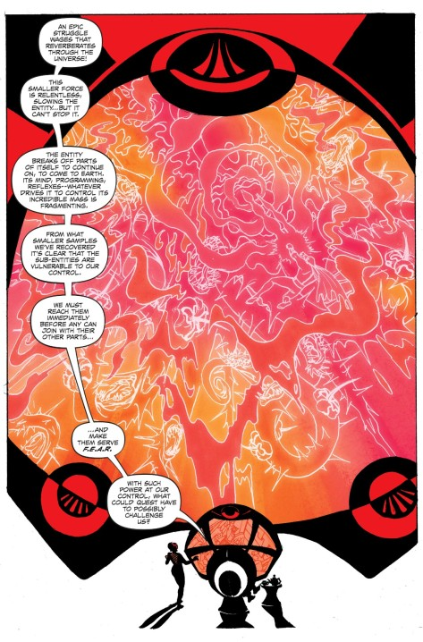 From Future Quest #1 by Steve Rude & Jordie Bellaire
